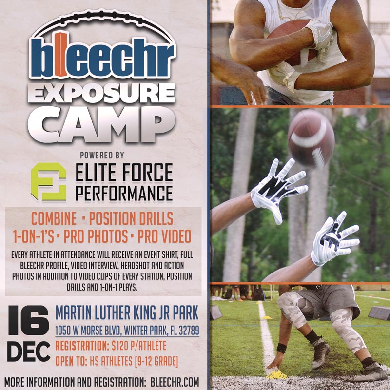 Bleechr Exposure Camp powered by Elite Force Performance