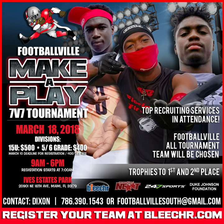 2018 Footballville Make a Play 7v7 Tournament