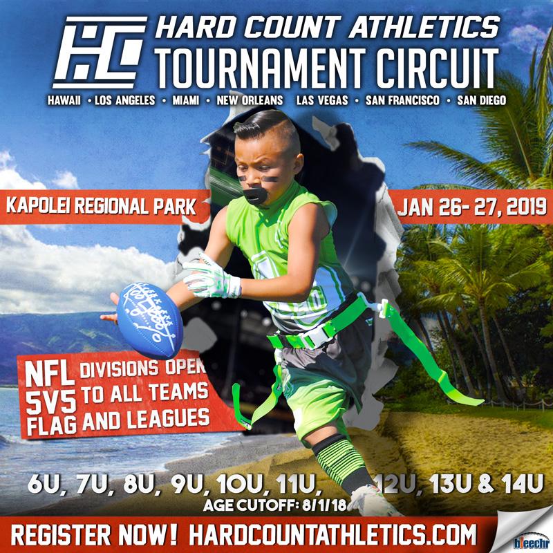 Hard Count Athletics Hawaii 5v5