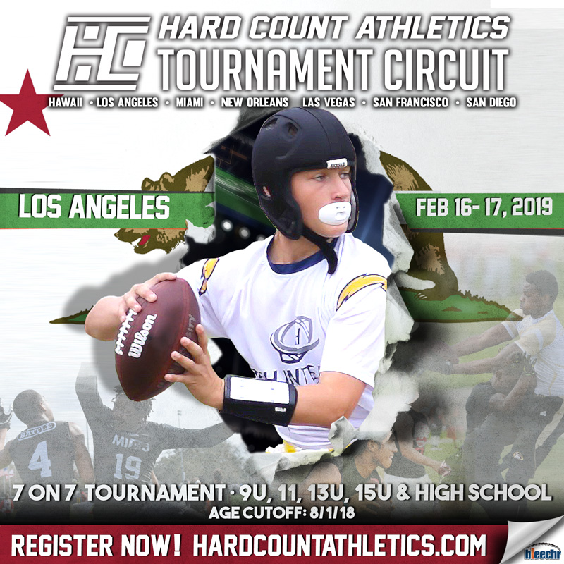 Hard Count Athletics LOS ANGELES 7v7
