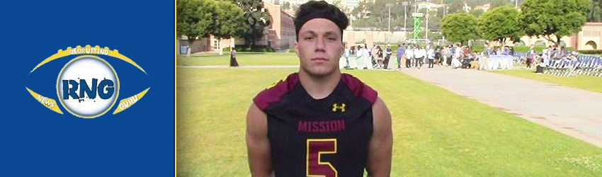 2018 ASU LB Commit Christian LaValle Turning in All State Season for Mission Viejo