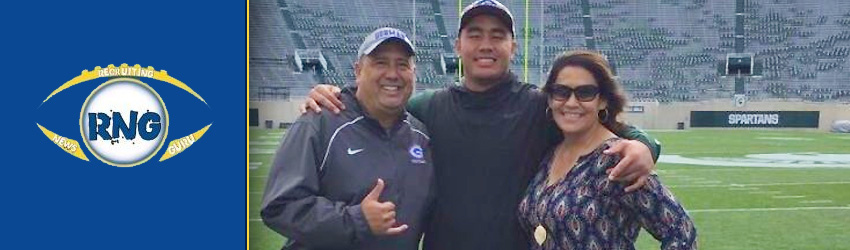 2018 Nevada 3 Star OL Jacob Isaia Talks Michigan State Commitment