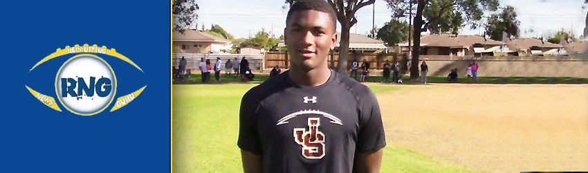 Athletic 4 star J Serra Class of 2019 WR Tarik Luckett