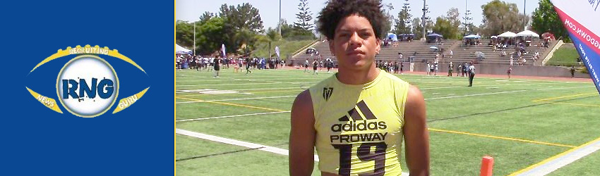 Calabasas 2020 WR Johnny Wilson gives Dorsey Postgame Interview