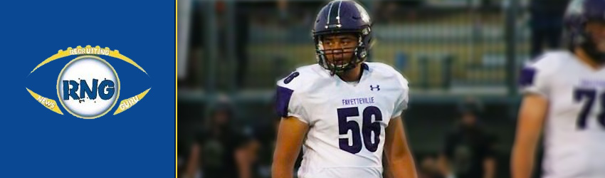 Fayetteville Cultivating Another Arkansas Next Level Talent in OLB Coleman Johnson