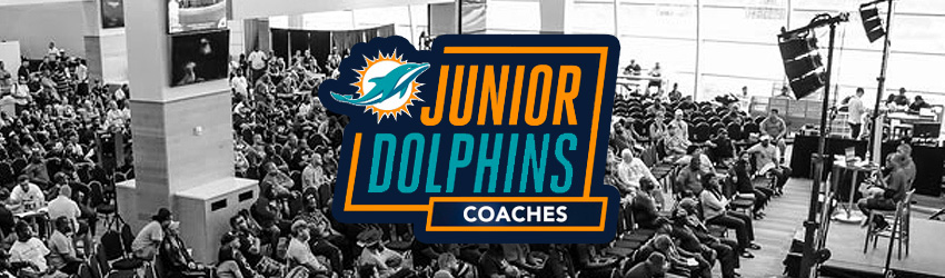 Miami Dolphins Host More Than 600 Participants at Third Annual Coaches Clinic